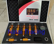 common rail injector valve stroke metering tool kit for Bosch and Denso diesel injector valve stroke measuring tool