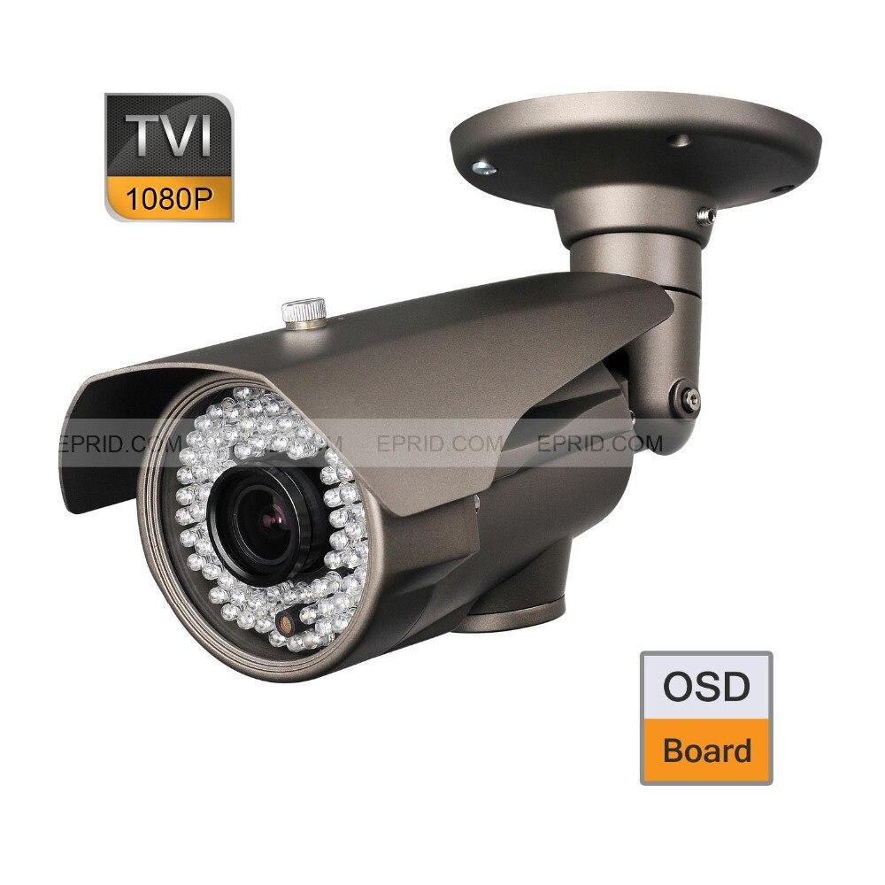 CCTV 1080P 2.0MP 2.8-12mm Lens Security HD-TVI Bullet Camera OSD Board 84 IR<br><br>Aliexpress