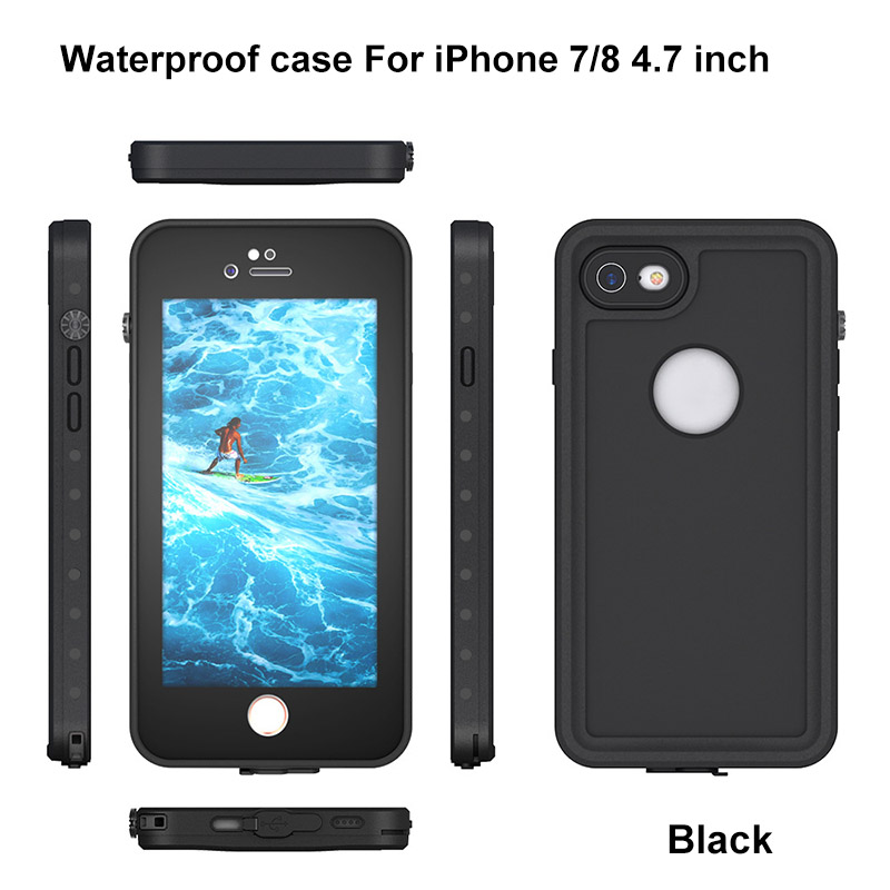4.For iphone 7 8 plus waterproof case