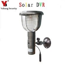 YobangSecurity Waterproof Solar Power PIR Outdoor Security Camera With Night Vision Surveillance CCTV Camera Video Recorder