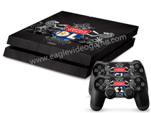 New arrival Ligue 1 team Olympique Lyonnais decal for ps4 skin sticker OL 1 console+2 controller sticker