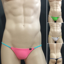 Buy mens sexy thongs underwear colors hot sale men's gay underwear sexual erotic thong g-strings t underwear low rise briefs