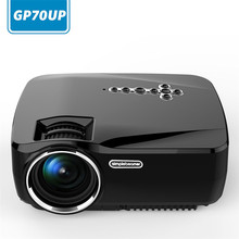 GP70UP Wireless Mini LED Video Projector Portable TV LED Projector Home Cinema  Android Smart WiFi Projector
