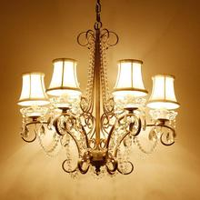 Retro rustic iron chandelier lighting for dining room traditional chandelier Cafe lampada loft American industrial lighting luce