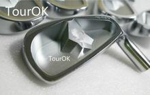 TourOK  Spirits 3D Iron Set George Spirits Golf Forged Irons Golf Clubs iron head4-9Pw(7PCS)