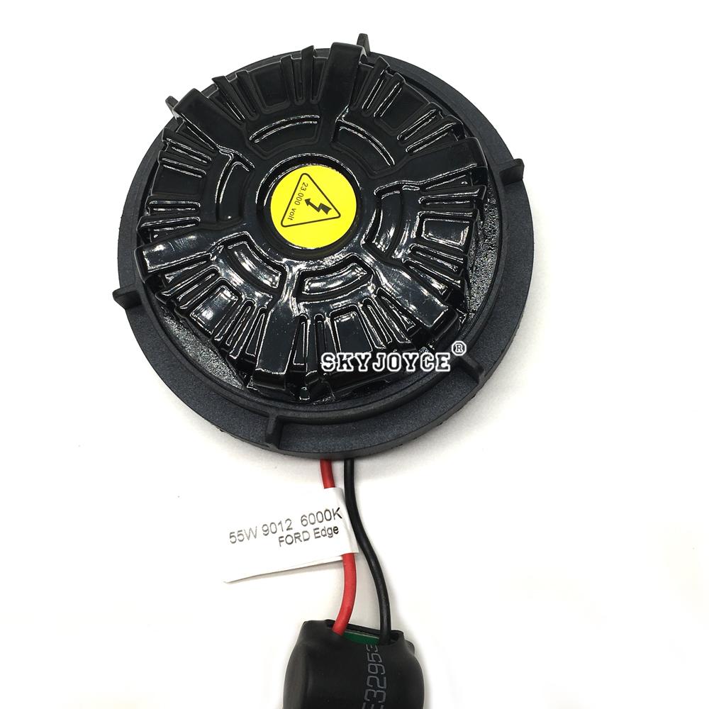 NO Error canbus 55W 9012 hid xenon kit Edge headlight 9012 bi-xenon kit 6000K HIR2 9012 xenon projector bulb brighter than 9012 (10)