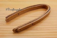 purse handle Genuine Leather purse handles for Bag 30 cm brown CK10C(China)