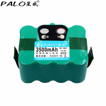 PALO 14.4V Ni-MH 3500mAh Vacuum Cleaner Battery For KV8 XR210,Cleanna XR210series Meidea M320,Zebot Z320,Kaily 310,A325(China)