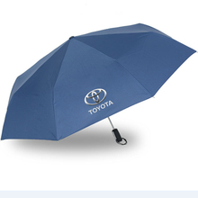 Fully-automatic Car Logo Umbrella For Toyota Highlander Camry Corolla Reize Crown Prado Prius Rav4 Hilux Yaris Avensis Auris