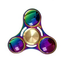 2017 Hand Spinner fidget Zinc allo Autism ADHD Finger Spinner Coloured Children Adult with Package Box Birthday Gift