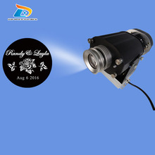 Christmas Big Sale Custom Design Logo Projector 4500 Lumens Projector Aluminum Alloy 40W LED Gobo Logo Projector Gobo Sign Light