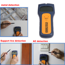3 in 1 Metal Detector Stud Finder Detector Wiring Multi-Function Scanner for Wall studs Metal Pipes and Electrical Wires(China)