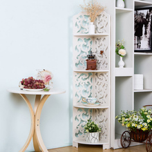 4 Tier Waterproof Wood Book Shelf Shoes Rack Shelves Holder Storage Home Organizer 120*23*23cm