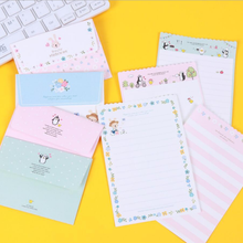 Students Creative Stationery Mini Envelope Stationery Sets Lovely Romantic Love Letter Paper Gift Cards(China)