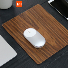 2017 New Original Xiaomi Wireless Mouse Bluetooth Mouse and Xiaomi Wooden Mouse Pad For Macbook Windows 8 Win10 Laptop Computer