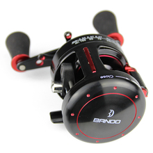 2017 Newest Casting Reel 5.2:1 Drum Reel Aluminum Alloy Frame 9+1 Bb Super Light Round Fishing Reel Steering-Wheel