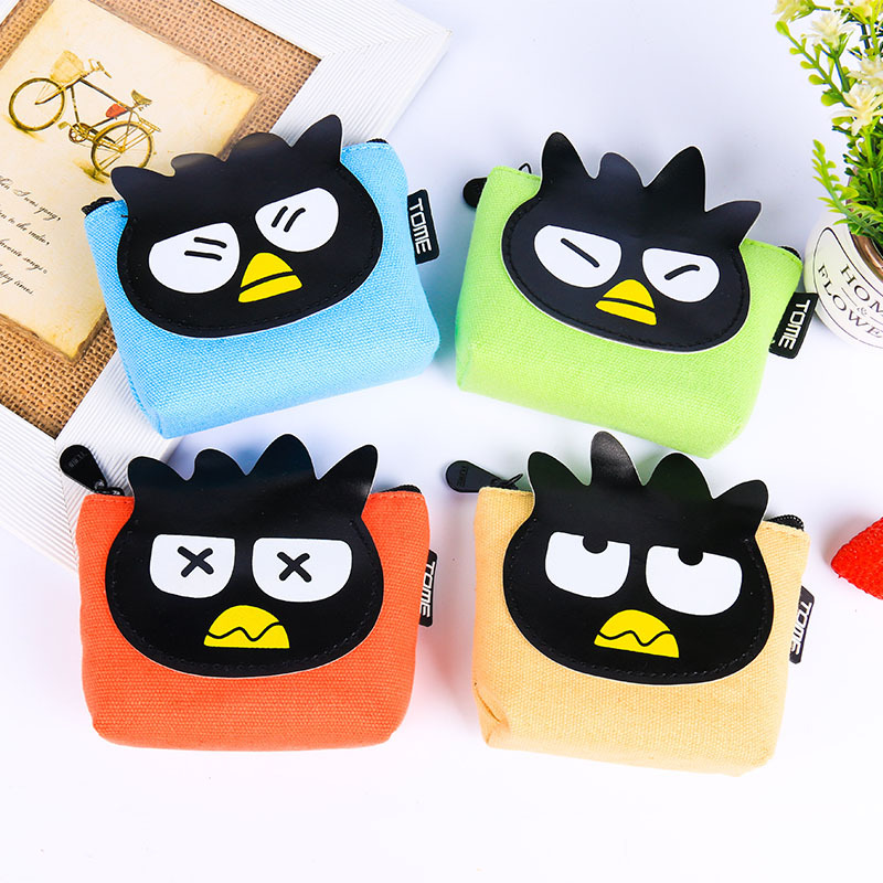 RU&amp;BR Cartoon Style Coin Purse Canvas Material Casual Students Coin Case Lovely Bird Pattern Fashion Coin Purse Women<br><br>Aliexpress