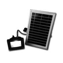 Solar Panel Flood Light with Power LED Floodlight High Conversion Rate Led Flood Light Led Graden Light for Path Garage Walkway(China)