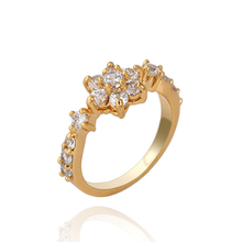 Fashion small single-circle drill pieces rings pinky rings female finger rings accessories rings KUNIU WJ0003