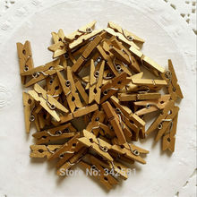 50 pcs Gold Mini Clothes Pegs Clothespins Boys Girls Baby Shower Decoration Christmas Tree Decoration Rustic Wedding Banner Clip