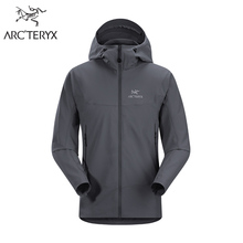 Arcteryx Ascent Series WEE BURLY Winter STORM Hooded Softshell Jacket Men's Lightweight Windproof Thermal Jacket Gamma LT Hoody(China)