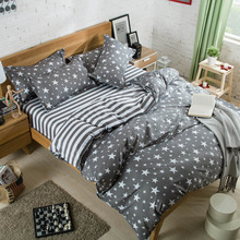 2016 Summer Fashion Cheap Bedding Sets 3pcs/4pcs Duvet Cover Flat Sheet Pillowcase Twin Full Queen King From Place Of Origin(China)