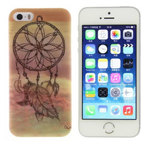 [Buy 3 get 4] Soft Silicone  Case for Apple IPhone 5 5S 5SE 4.0 inch Cover  Back Protecter Ultra Thin Gel Bag Shell, wind-bell