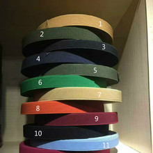 "Free Shipping 2""  50mm Width Colorful 25M/lots Elastic Webbing Band Solid Colors Olive DIY Sewing Craft Clothing Accessories"
