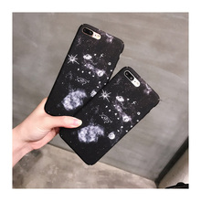 Luxury Retro Solar System Star Case Cover For Apple iPhone 7 7 Plus New Case Vintage 7 Series Space Curve Case For Phone