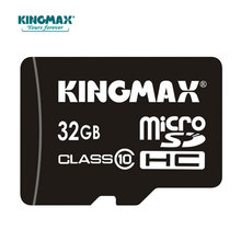 KINGMAX Microsd Card Real Capaity Memory Card High Speed micro sd card 32GB class 10 Microsd 16GB Microsd TF Card with Adapter(China)