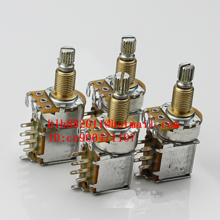free shipping new electric guitar and bass cutting single 2  A250K  2  B250K tone and volume electronic    DR-8161<br>