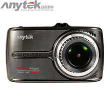 Hot Sale Original Anytek Car DVR G66 Novatek 96655 Car Camera 1080P WDR Parking Monitor Touch Screen Black Box gift(China)