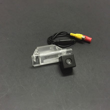 For Nissan Almera / Genuine / License Plate Light OEM / HD CCD Night Vision Car Rear View Backup Reverse Camera