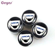 CEYES Excellent Auto Car-Styling Car Stickers Emblems Badge Case For Dacia Duster Logan 2 Mcv Sandero Stepway Lodgy Car Styling