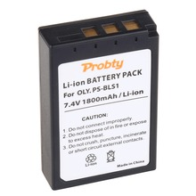 PROBTY PS-BLS1 PS BLS1 PSBLS1 Rechargeable Battery for Olympus PEN E-PL1 E-PM1 EP3 EPL3 Evolt E-420 E-620 E-450 E-400 E-410