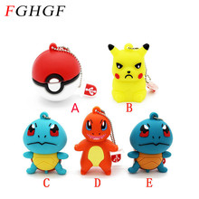 FGHGF Pokemon Pikachu pendrive 4gb 8gb 16gb 32gb keychain cartoon squirtle charizard usb flash drive pendriver memory card gift