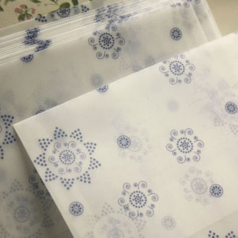 10 pcs/lot romantic Snowflower envelope postcards greeting card cover parchment paper envelopes stationery school supplies(China (Mainland))