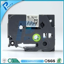 Compatible Laminated tape18mm Black on Clear TZ141 TZe141 for P-touch label printing machine(China)
