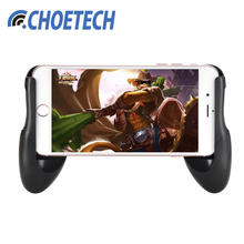 CHOETECH Mobile Phone Stand Adjustable 4.5-6.5 Inches Game Control Phone Holder Universal For Android iPhone Smartphone(China)