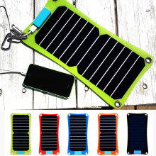 Jslinter  Flexible Outdoor Solar Charger Panel 7W  Waterproof Sunpower mono Solar Cells Panels USB output for phone and pad