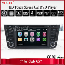 Free shipping Car DVD for GEELY Emgrand X7 Emgrand GX7 car dvd radio gps With bluetooth Emgrand accessories RDS 1080P wifi link