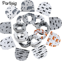 2017 Baby Hats Animal Printing Cotton Baby Caps Children Hat Scarf 2pcs Set Kids Knitted Winter Beanie Hat