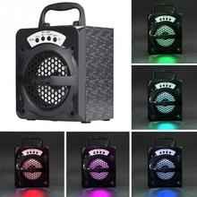 High Power Bluetooth speaker for outdoor activity for seller promotion infor support USB/TF/AUX/FM long standby time