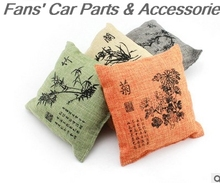 New Design Car Air Fresher Cleaner Bamboo Charcoal Bag Chinese style Decoration