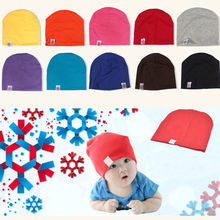 New Unisex Newborn Baby Boy Girl Toddler Infant Cotton Soft Cute Hat Cap Beanie Children Kids Boys Girls New Arrival Clothing(China)