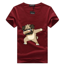 Buy SWENEARO 2018 Casual Men's t shirt men Brand T Shirt Dogs Animal cartoon Printed T Shirts Summer High Hipster t shirts for $4.47 in AliExpress store