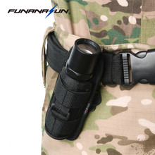 360 Degrees Rotatable Flashlight Pouch Belt Torch Cover for FENIX UC30/UC35/E35/Surefire G2/6P/E2L/UltraFire 501B/502B/XTAR