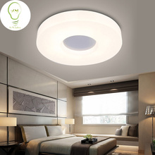 ModernLED Ceiling Light for Living Room Foryer Study Bedroom Hallway lighting Bread ring light cirque shape White free shipping