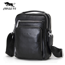 CROSS OX 2017 New Arrival Genuine Cowhide Leather Men's Cross Body Bag Shoulder Bags For Men Messenger Bag Portfolio SL391M