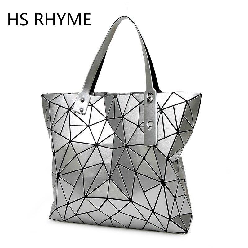 HS RHYME New Design Diamond Bag Lattice Pearl Irregular Woman Top-hand Bag Geometry Handbag Geometric Shoulder Tote<br><br>Aliexpress